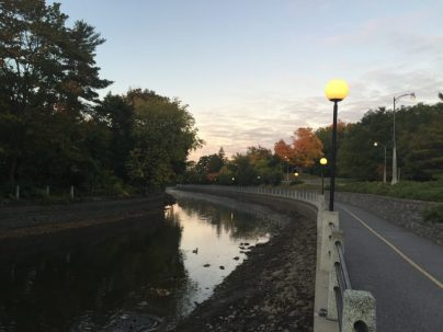 There are plenty of walking paths in Ottawa but access to the Canal is always a perk!